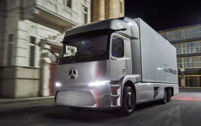 El nuevo camión eléctrico eActros de Mercedes-Benz
