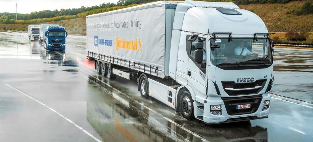 Se acerca la conducción automatizada de camiones