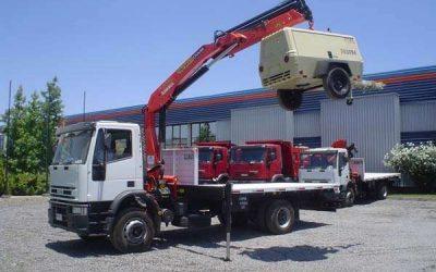 Camiones con pluma... Requisitos y habilidades