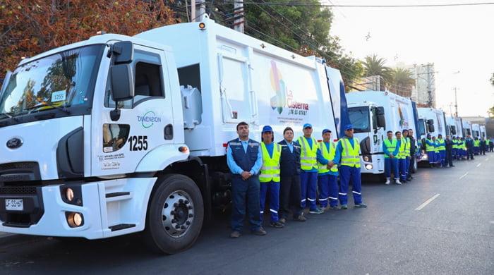 Los camiones de basura, cumplen un siglo en la historia.