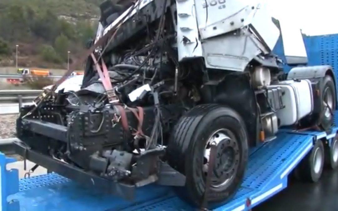 Accidentes de camiones… pocos… pero preocupantes