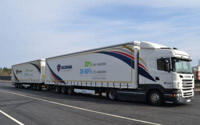 Los Megatrailers y el transporte en España