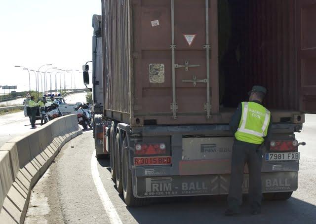 Robo de Mercancía en Camiones