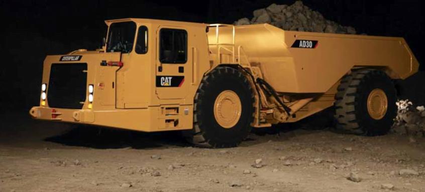 Camiones de transporte minero en España