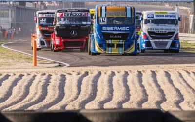Las carreras de camiones ganan público