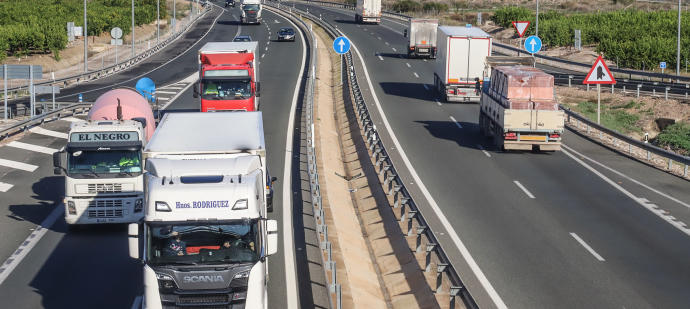 Los camioneros toman medidas contra efectos del coronavirus
