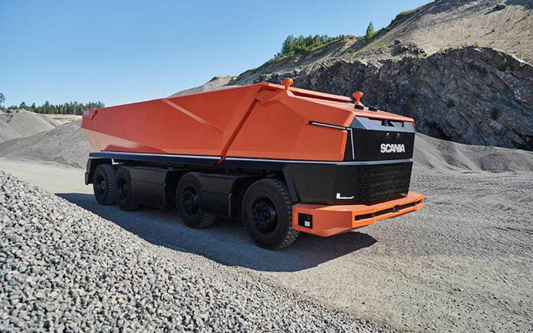 Camiones autónomos Scania