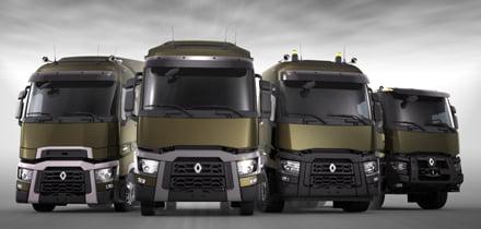Los nuevos camiones Renault