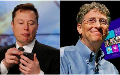 Elon Musk afirma que Bill Gates no tiene ni idea de camiones eléctricos