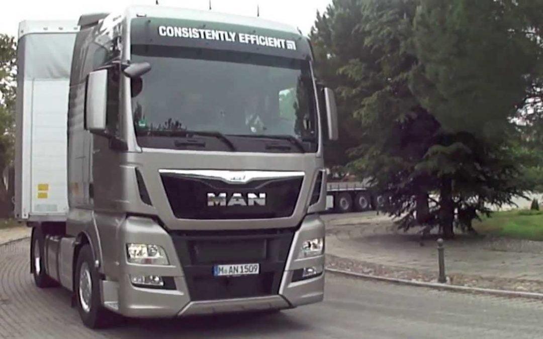 Logística recibe camiones MAN