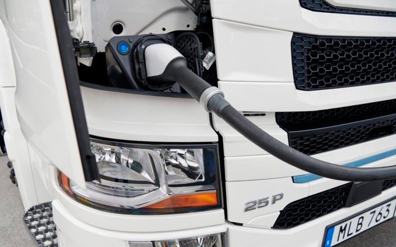 scannia desarrollará camión eléctrico enchufable