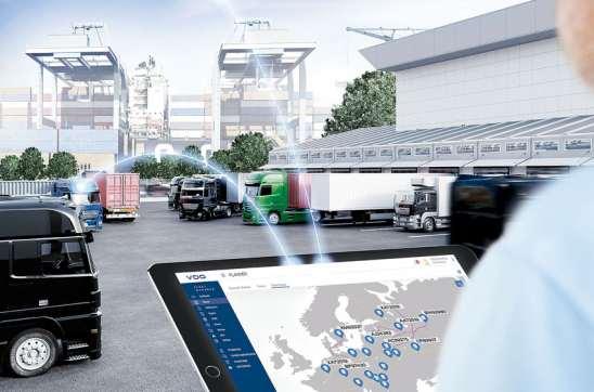 Gestión telemática en la flota de camiones de Spedion