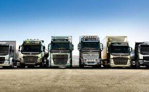 Camiones Volvo es líder del sector de 16 toneladas en España